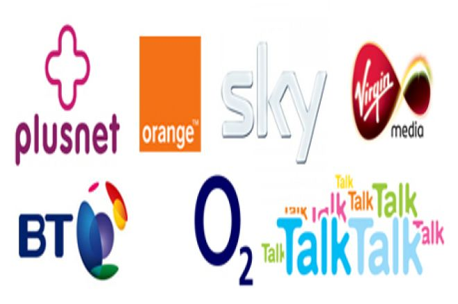 The UK's leading Internet Service Providers