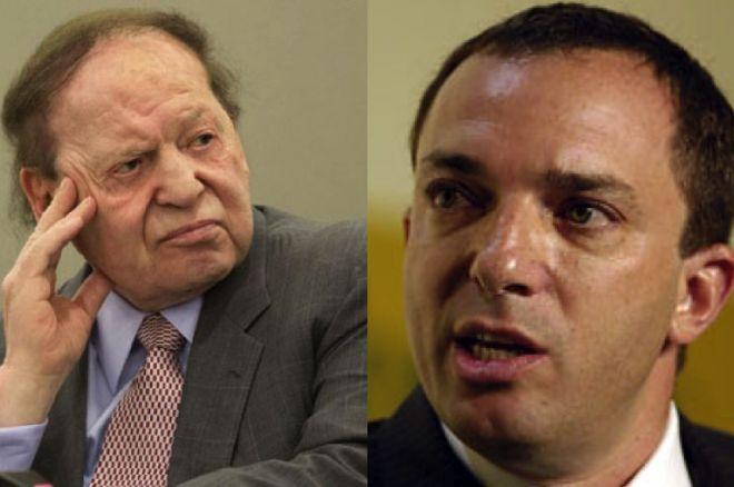 Sheldon Adelson & Caesar's Mitch Garber
