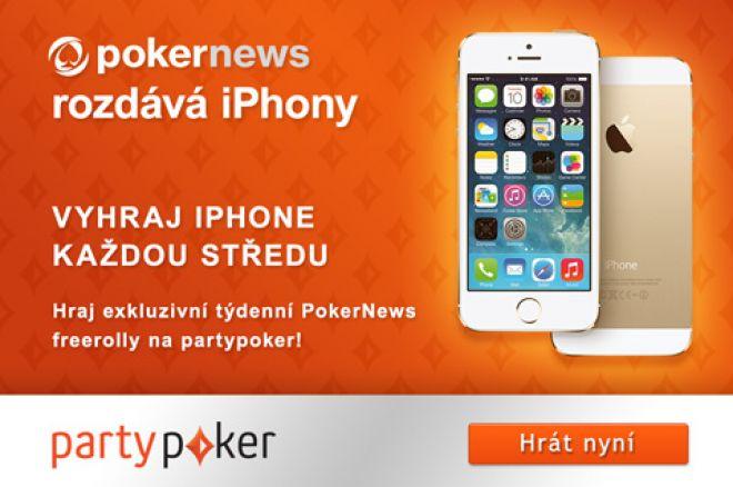 Právě dnes můžeš na partypoker vyhrát luxusní iPhone 5S! 0001