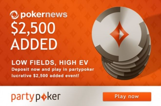 Don't Miss the PokerNews $2,500 Added Tournament on partypoker! 0001