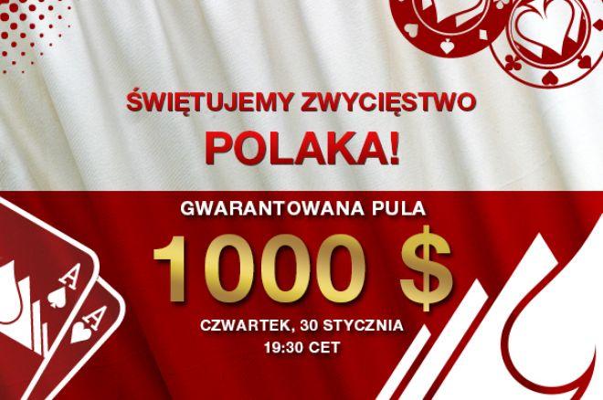 Świętujemy Zwycięstwo Polaka z Everest Poker! Zagraj w turnieju z pulą $1,000 już 30... 0001