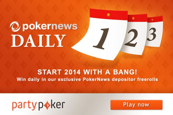 Play For a Share of $100 in the partypoker Daily Freerolls 0001