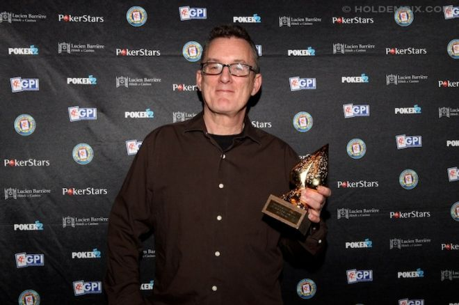Barny Boatman with is Lifetime Achievement Award