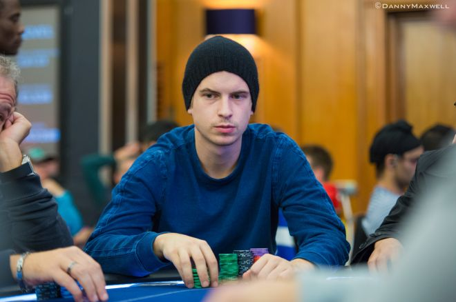 viktor blomPolk had enjoyed a good day at the $500/$1000 CAP NLHE tables yesterday, first beating SallyWoo for close to $70k, be
