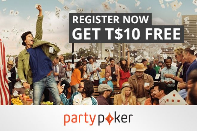 Enjoy T$10 for Free on partypoker! 0001