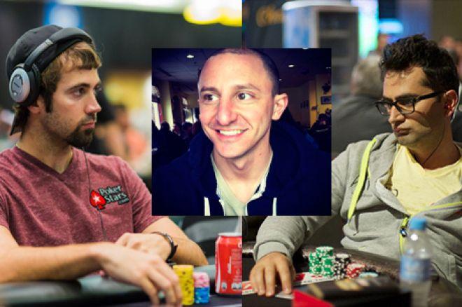 """Mercier e Esfandiari """"Dão"""" $5,000 a Repórter da PokerNews Para Deixar Crescer o Cabelo 0001"""