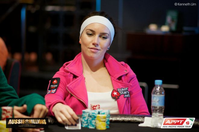 Liv Boeree one of four British and Irish players through to Day 4 of the 2014 Aussie Millions Main Event