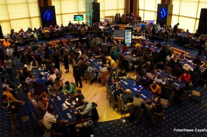 EsPT día 1B: 502 jugadores abarrotaron ayer el Casino Gran Madrid; Asier Crespo líder 0001