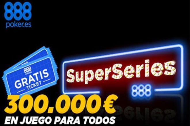 Este marzo llegan las SuperSeries 888 con 300.000€ en premios 0001