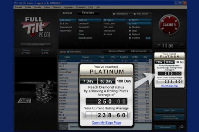 Full tilt poker edge leaderboard 2014 blackjack boat for sale