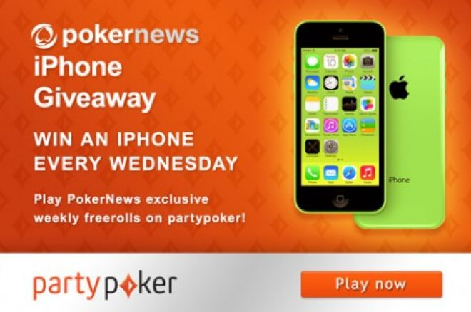 Get Your Hands on a Free iPhone Every Week on partypoker! 0001