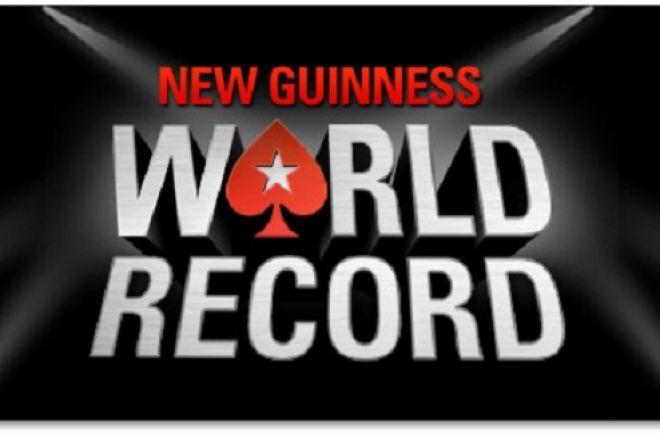 PokerStars ruošiasi dar vienam pasaulio rekordui vasario 23-iąją dieną 0001