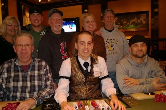 $270,000 Bad Beat Jackpot Hits at Horseshoe Cincinnati World Series of Poker Room 0001