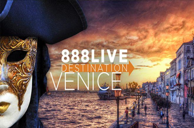 ¡Gana un paquete de $2.000 para el evento 888Live Destination: Venice! 0001