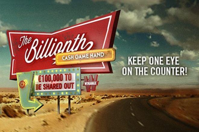 Oslavte s Winamax 1 miliardu handů a vyhrajte podíl z €100,000! 0001