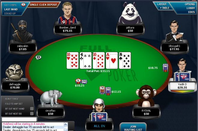 "Micro Turbo Online Poker Series: ""tiagove001"" Foi 3º no Evento #62 0001"