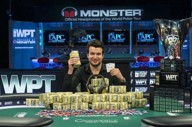 Chris Moorman pokonuje Glenna Lafaye'a i wygrywa 2014 WPT L.A. Poker Classic zgarniając... 0001