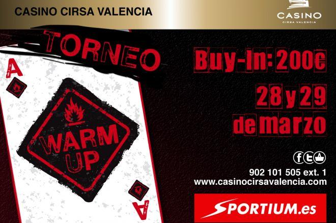 Sportium te invita al nuevo Warm-up en el Casino Cirsa de Valencia 0001