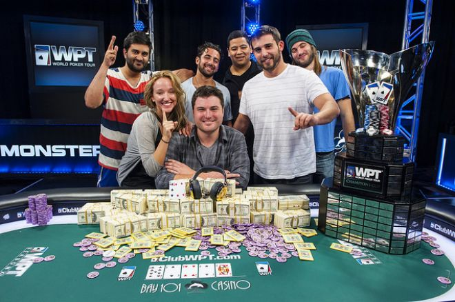 James Carroll Wins 2014 WPT Bay 101 Shooting Star for $1,256,550 0001