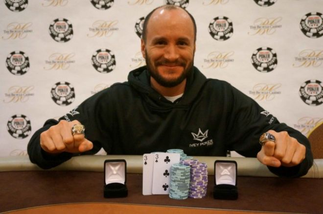 Mike Leah Wins Two WSOP Circuit Rings in 24 Hours 0001