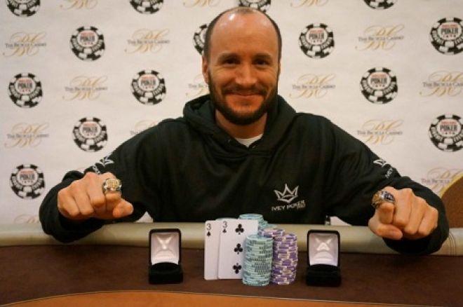 Mike Leah Wins 2 WSOP Circuit Rings