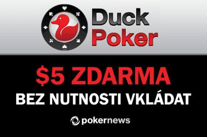 Vyzkoušej DuckPoker už dnes; Minimální vklad pouhých $5! 0001