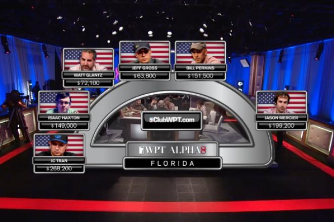 WPT Alpha8 on FOX Sports 1 Florida Part I: The First Hand, Alligators & Mercier's Pad 0001
