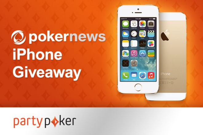 Last Chance to Win a New iPhone 5S in partypoker's iPhone Giveaway 0001
