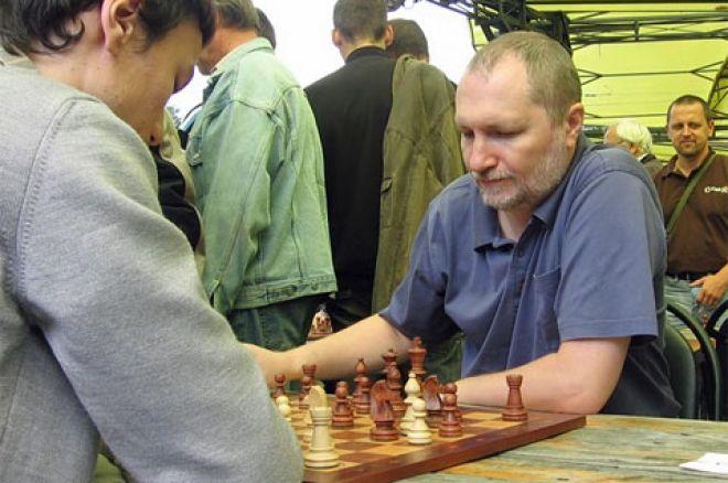 Николай Власов в шахматном турнире