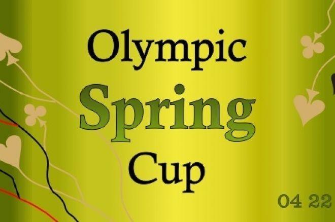 Balandžio antroje pusėje Olympic Spring Cup pokerio serija aplankys Vilnių 0001
