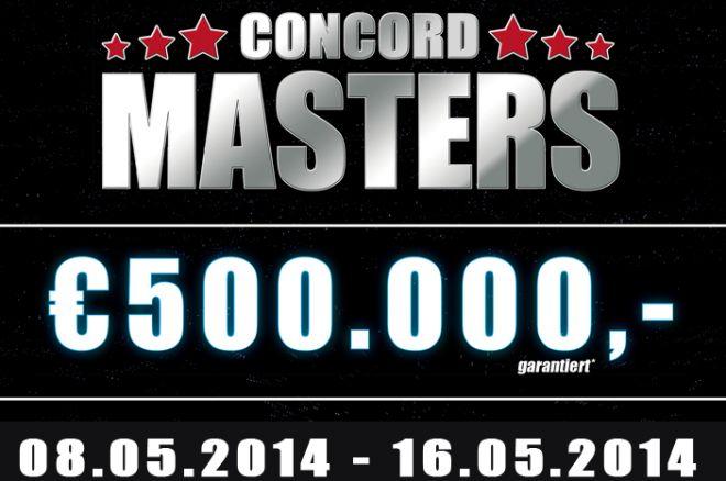 Zakwalifikuj się do €500,000 Concord Masters Main Event na William Hill! 0001
