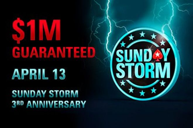 Reminder: We Are Giving Away 100 Tickets to PokerStars 1m Gtd. Sunday Storm – For Free! 0001