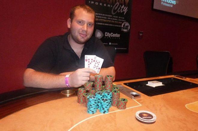 Franco Brigante es el nuevo ganador del Tuesday Poker City 0001
