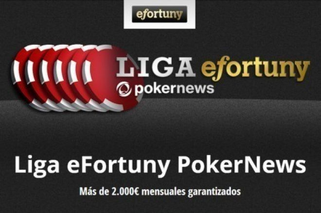 'gonzalezo' gana la cuarta jornada de la Liga eFortuny PokerNews 0001
