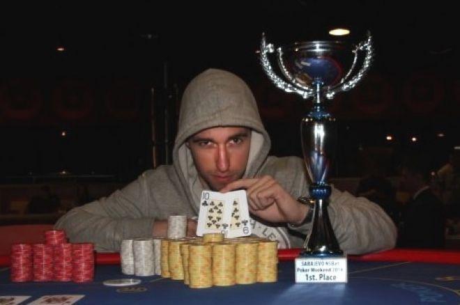 Milan Dondur je Pobednik NSBet Sarajevo Poker Vikenda Posle Podele Nagrada sa Markom Lukša... 0001