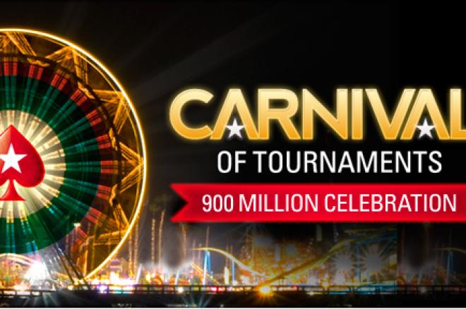 """Į PokerStars sugrįžo populiarusis """"Turnyrų Karnavalas"""" 0001"""