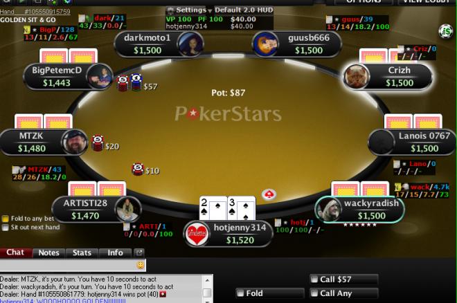 Karnawał Turniejowy na PokerStars: $500.000 od 14 kwietnia w Milestone Golden SnG! 0001