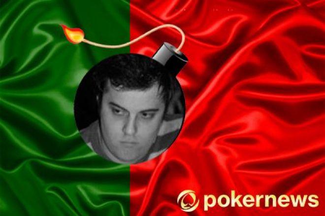 Tiago Dias 3º no Evento #44 das Winamax Series (€9,6k); Tomás Paiva vence $109 na Stars... 0001