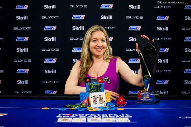 Vicky Coren Mitchell Becomes The First Ever Two Time EPT Champion by Winning the PokerStars.it EPT San Remo for €476,100!