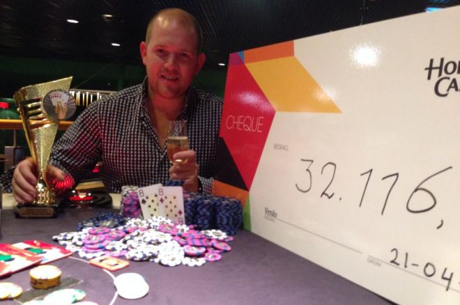 Pieter de Korver wint Main Event van Venlo Poker Series voor €26.390!