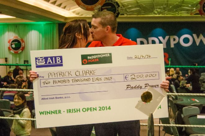 Patrick Clarke wins the 2014 Paddy Power Poker Irish Open