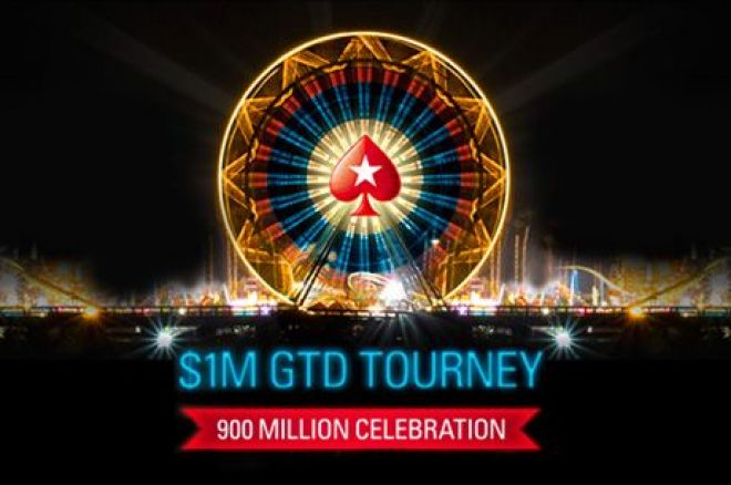 The Sunday Briefing: PokerStars Celebrates 900 Millionth Tournament With $1M Guarantee 0001
