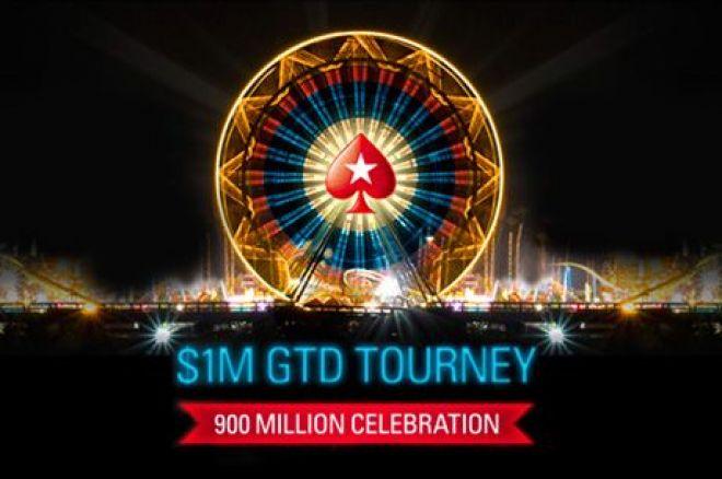 PokerStars провели 900-миллионный турнир с гарантией... 0001