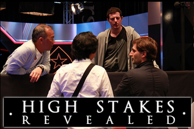 "High Stakes Revealed: ""The Chairman"", Mouly, Torelli, Gruissem en anderen spelen €2.000/€4.000/€8.000 cashgame"
