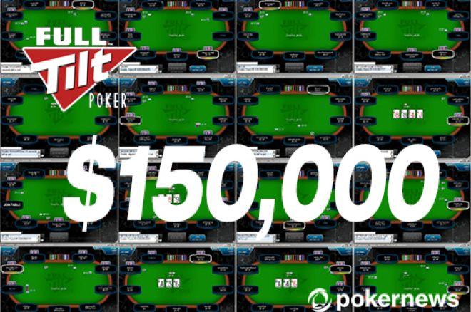 Noite de Sonho na Full Tilt Poker: $150,000 a Caminho de Portugal 0001