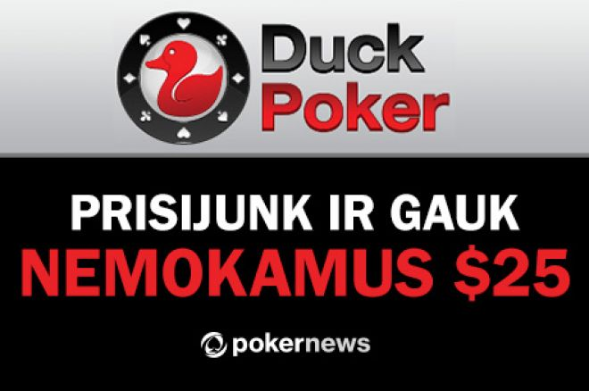 Duckpoker free 25