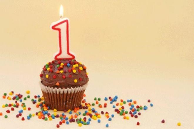 1st birthday for PokerNews Canada