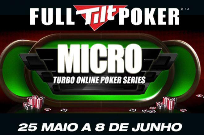 Micro Turbo Online Poker Series - 25 Maio a 9 Junho $1 Milhão GTD na Full Tilt Poker 0001