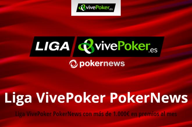 Los primeros 100€ repartidos en la Liga VivePoker PokerNews 0001