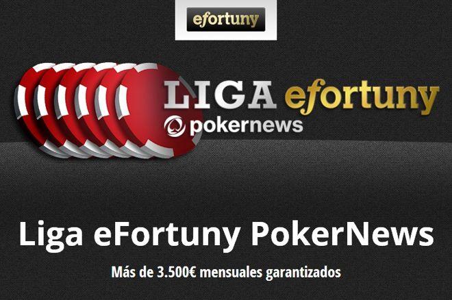 Cambio de líder en la Liga eFortuny PokerNews 0001